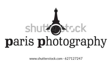 paris photography logo icon