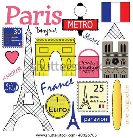 Paris Vector Collection