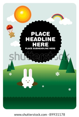 park template vector/illustration