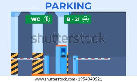 parking inscription  safe place