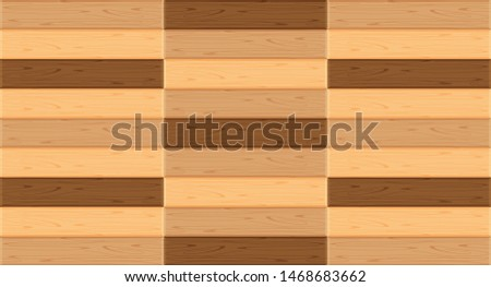 parquet wooden flooring in top view for background, illustration parquet floor empty, wooden panel texture for decorating room, wood parquet pattern brown color, wallpaper flat parquet textured floor