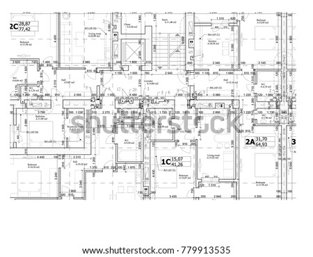 Free floor plan vector download free vector art stock graphics part of a detailed architectural plan floor plan layout blueprint vector illustration malvernweather Gallery