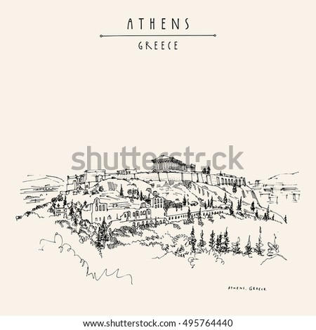 parthenon temple and the...