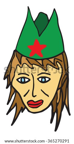 partisan vector illustration