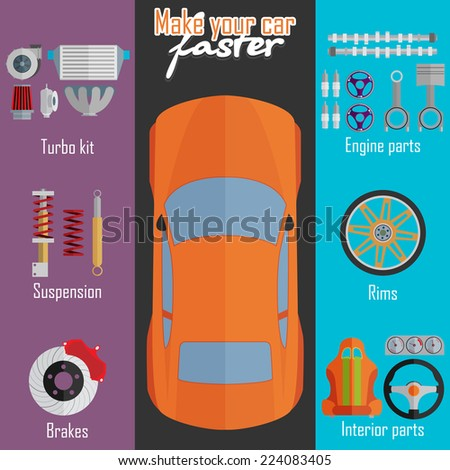 parts for cars tuning and