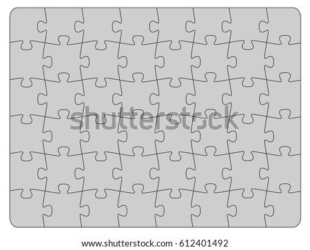 Parts of paper puzzles business concept template ez canvas parts of paper puzzles business concept template friedricerecipe Gallery