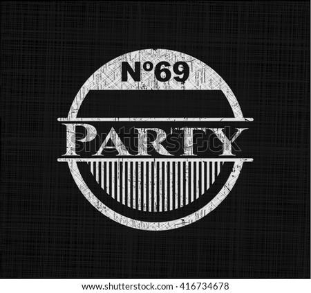 Party chalk emblem