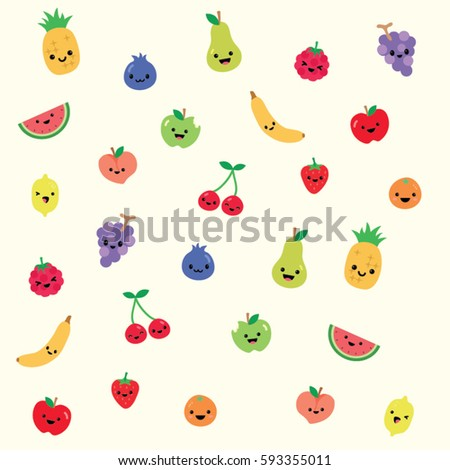 party fruit background texture