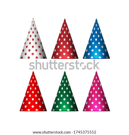 Party Hat,Party hat Birthday element for celebrating birthdays online social distancing together,Digital greeting,birthdays,eCards for Birthday online,Sale Promotion,isolated vector,birthday decoratio