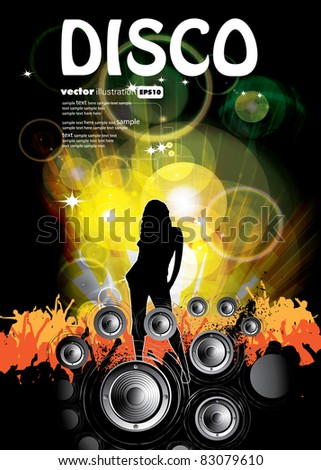 Party illustration - stock vector