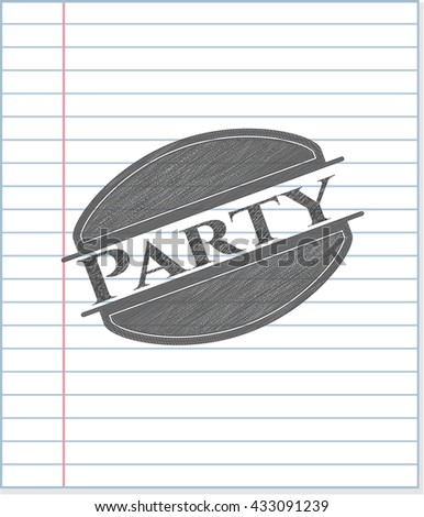 Party pencil draw