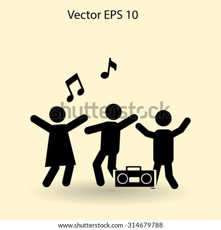 party vector icon