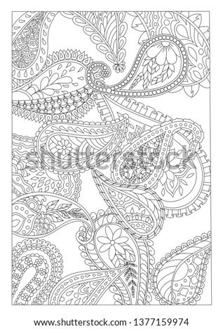 Pasely coloring page