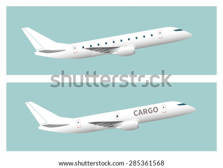 passenger aircraft and cargo