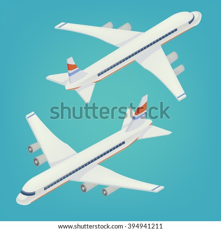 passenger airplane airliner