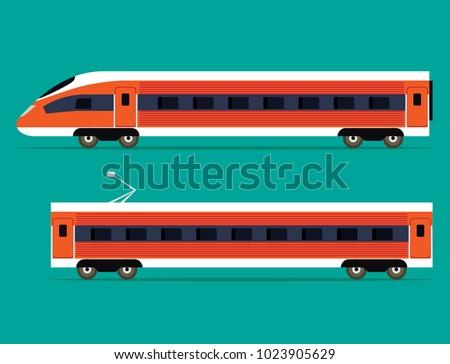 passenger express train