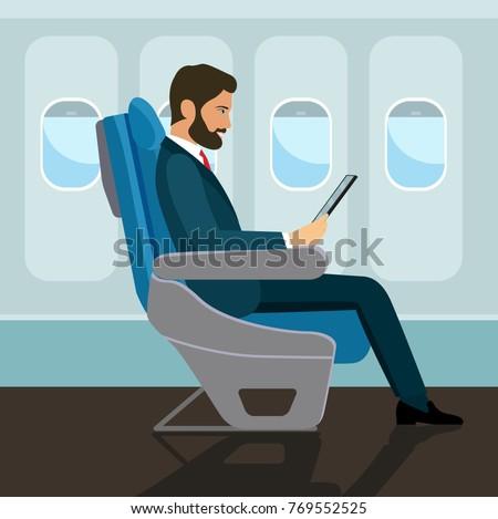 passenger man  sitting in chair