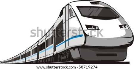 passenger railway speed train