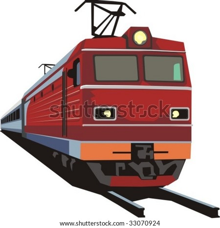 passenger railway train