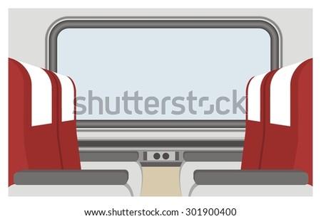passenger train seat