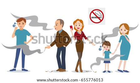 passive smoking concept