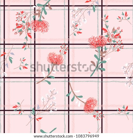 pastel color seamless pattern...
