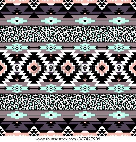 Navajo Pattern Wallpaper