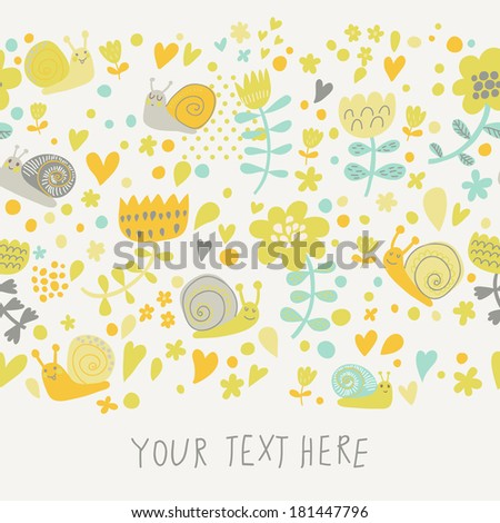 pastel colored floral design