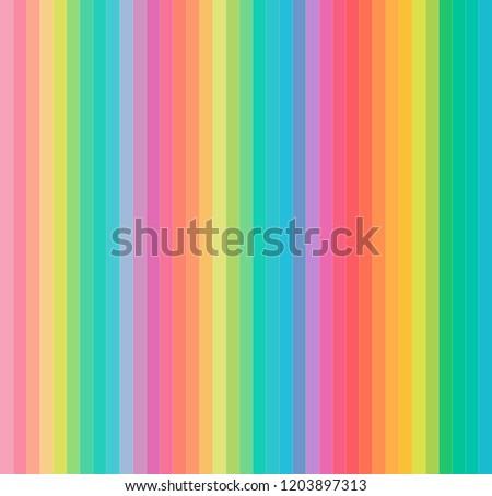 pastel colorful line trendy