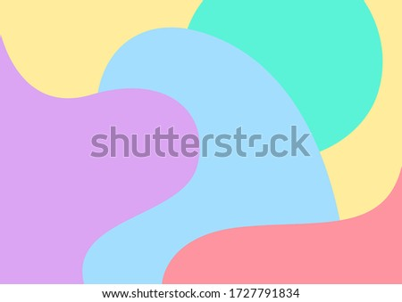 pastel soft multicolour for background, blob free shape multicolored for backdrop, colorful blob shape for banner, multicolored blob shape for wallpaper, blob free shape multicolored for backdrop