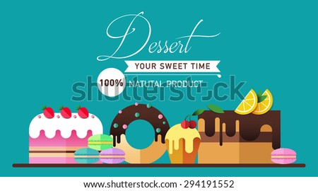 pastry and bakery desserts mini