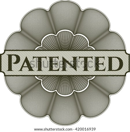 Patented abstract linear rosette