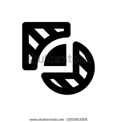 Pathfinder intersect icon. Vector EPS file. Stock photo ©
