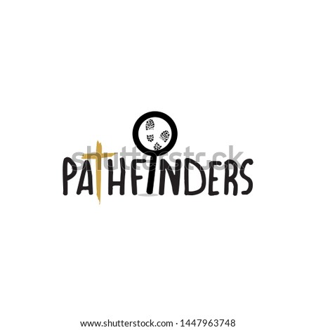 pathfinder logo design sign