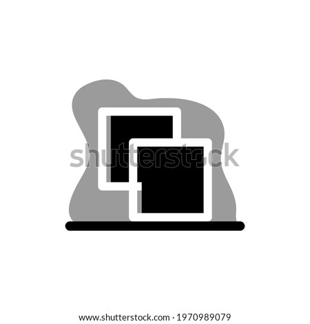Pathfinder Unite Icon Conceptual Vector Design Illustration eps10 great for any purposes Stock photo ©