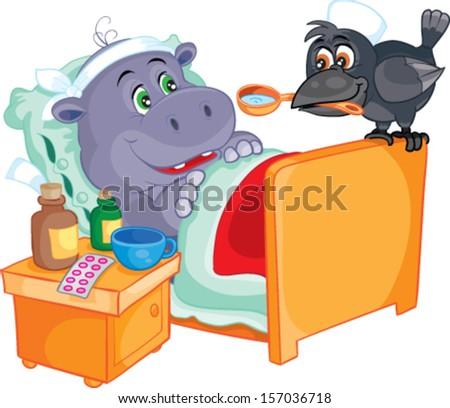 stock-vector-patient-hippo-treats-crow-157036718.jpg