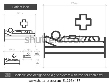 Hospital Bed Graphics - Download Free Vector Art, Stock Graphics ...