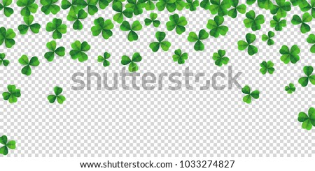 patrick day background with