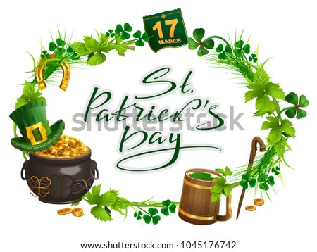 patricks day accessories pot