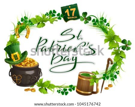 patricks day accessories pot