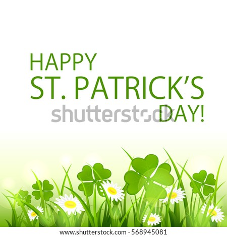 patricks day background with