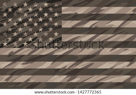 patriotic desert tan camo usa