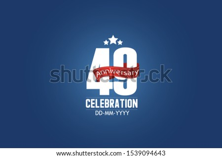 patriotic 49 year anniversary