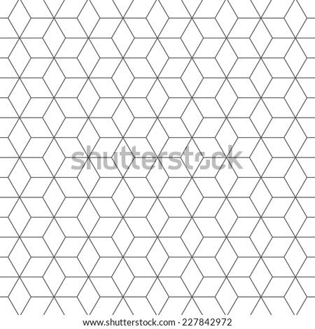 Pattern background 16, cubes pattern