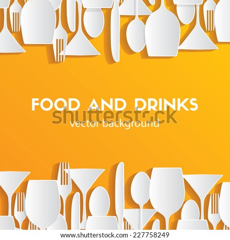 pattern background food and