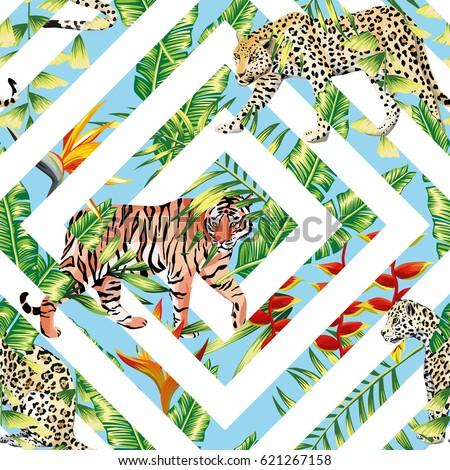 pattern beach vector animal
