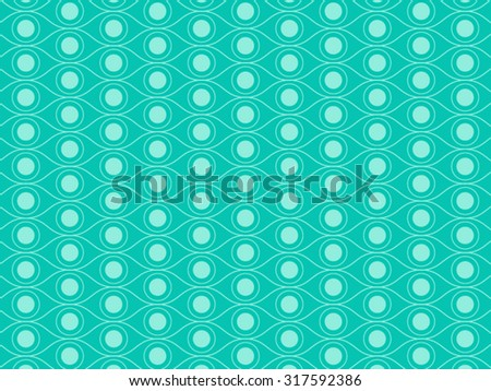 pattern eye abstract vector
