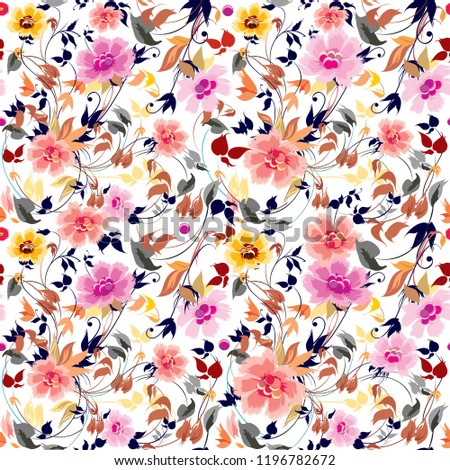 pattern flowers rose