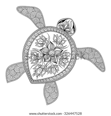 pattern for coloring book