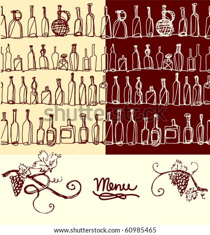 pattern for menu